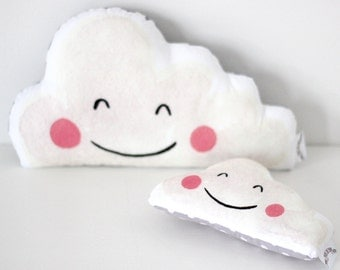 Happy Cloud  Rattle