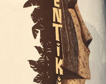 Ventiki Tiki Restaurant Art
