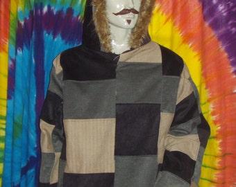 Custom patchwork jacket
