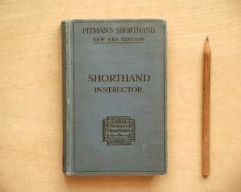 Vintage Shorthand Instructor book