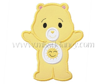 Sunshine Bear Applique Design