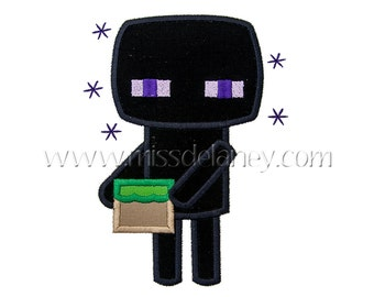 Enderman Applique Design