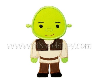 ON SALE Ogre  Prince Applique Design