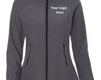 Women's Custom Embroidered Soft Shell Jacket