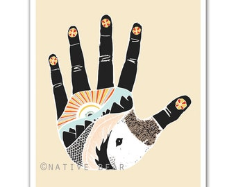 The Something Hand Print