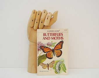 Butterflies and Moths Guide, Field Guide to the Butterfly and Moth, Lepidoptera, A Vintage Golden Guide Book