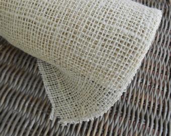 Raw Jute Natural Fabric 2 yards
