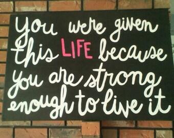 inspirational art, quote art, motivational art, motivational canvas, wall art, inspirational quote, quotes on canvas