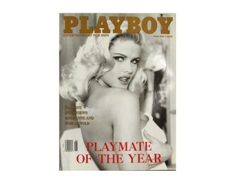Playboy Magazine - Vintage June 1993