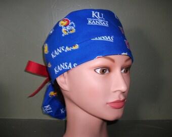 Ponytail scrub cap KU