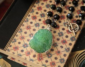 Renewal Harmony Druzy Necklace