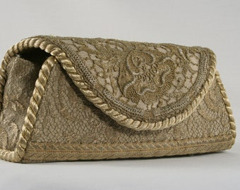 Special Antique Lace Clutch