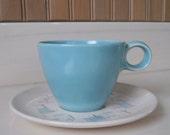 Vernon Kilns Teacup Heavenly Days Teacup & Saucer
