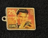 Vintage Elvis Presley Commemorative Key Chain FOB - 1993