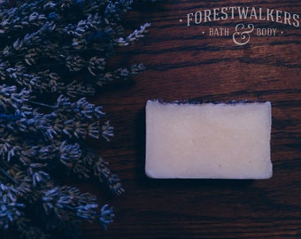 Lavender Soap - Vegan, Cruelty Free, Handmade and Natural - Forestwalkers