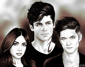 The Lightwood Family 8.5x11
