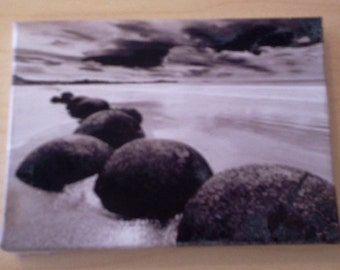 Dolls House Miniature Canvas Of Stones