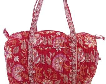 Travel Bag - Red Sarasic