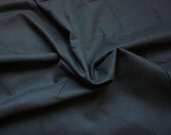 Voile de coton - noir - 50 cm