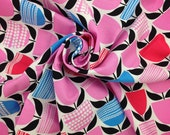 Cotton Quilt FABRIC SALE! Moxie Buttercup Bubblegum, Fabric By The Yard, Erin McMorris, Quilt Cotton Fabric, Apparel Fabric, Sale Fabric
