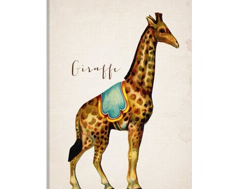 iCanvas Circ I Gallery Wrapped Canvas Art Print by Natasha Westcoat