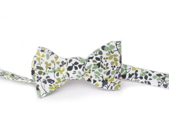 Green Liberty of London Bow Tie