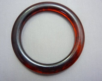 Bangle Vintage Bakelite Amber Swirl Bangle Bracelet