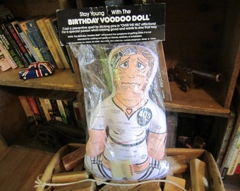 Birthday VOODOO Doll female. New in Package. Magic Age Halting VooDoo Doll. Great Gift.