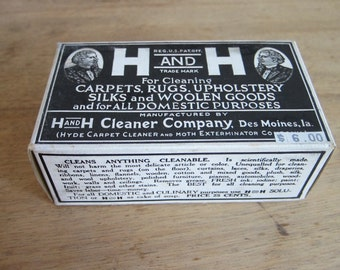 Vintage Soap, Vintage Advertising, H and H Cleaner Company Soap