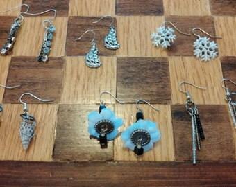 Black Earrings - Choose Yours!