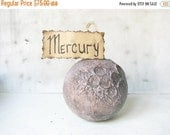 CIJ SALE Galaxy cosmic doctor who special unique romantic decoration Planet Mercury, zodiak, gift for her, galaxy, gift for him
