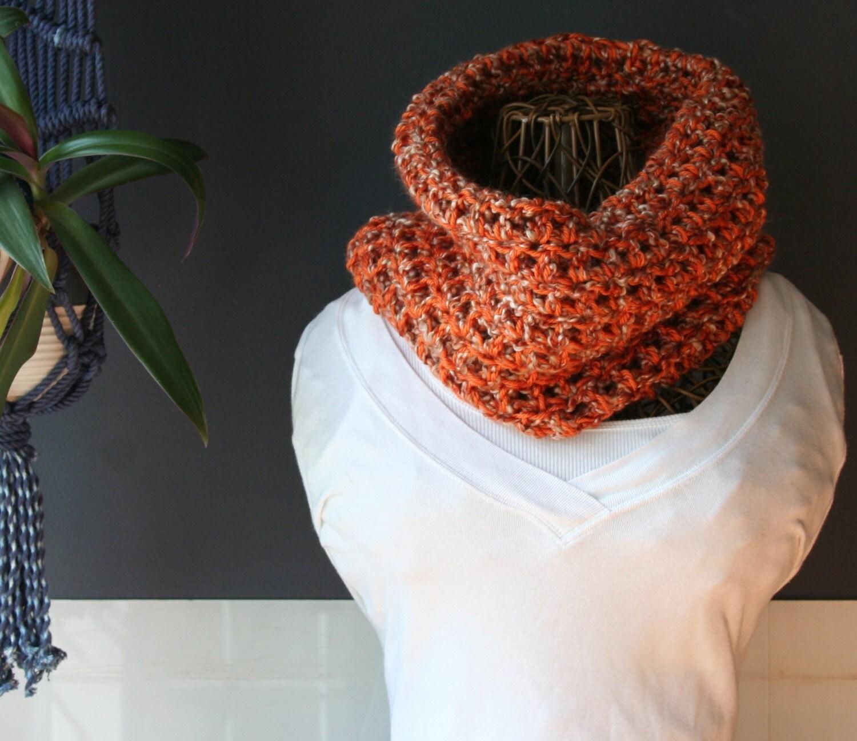 Crochet Cowl,Cowl Scarf,Knit Cowl,Loop Scarf,Chunky Knit,Crochet ...