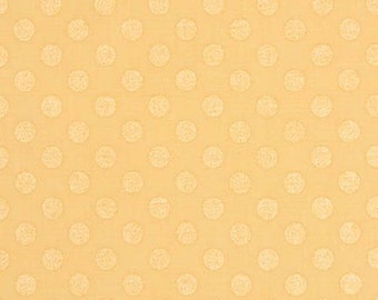 Spot On Pearlized Dots on Buttercup From Robert Kaufman