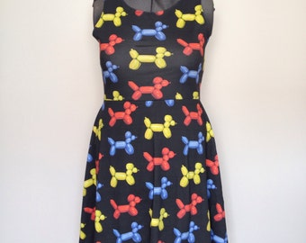Balloon Dog Skater Dress