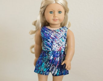 Sporty Romper ~ Fits 18 Inch Dolls ~ Doll Clothes