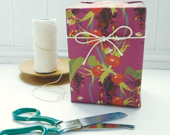 Pheasant Berry Gift Wrapping Paper