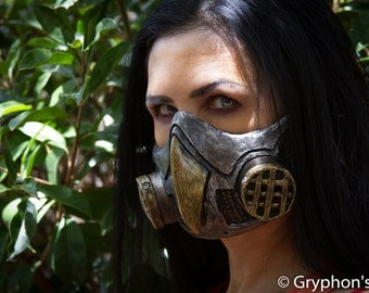 Steampunk, Diesel Punk New Owl Gas Mask Respirator cosplay fetish Larp (goggles not included) OnSale now! 25% off!!