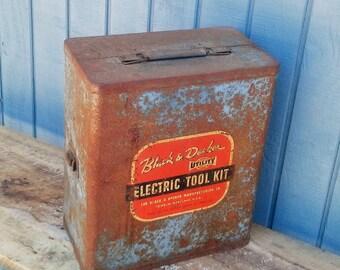 Vintage Black & Decker Electric Tool Kit