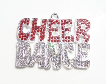 47mm*37mm Dance Inspired Pendant, Cheer, P7