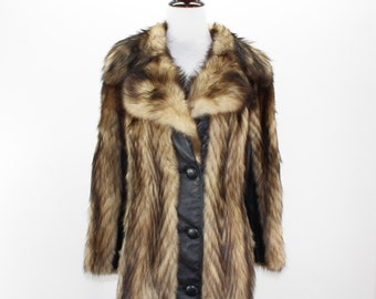 Coyote fur jacket | Etsy