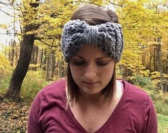 Crocheted Earwarmers - Adult - Winter Headband