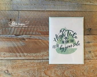 By Your Side - Greeting Card - Love  Wedding  Marriage  Anniversary