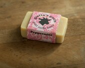 Organic Peppermint Goat Milk Soap from Hand Milked Goats that Graze on Organically Managed Pasture