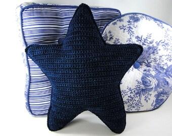 Crochet Pattern - Star Pillow Crochet Pattern #101 - Instant Download PDF