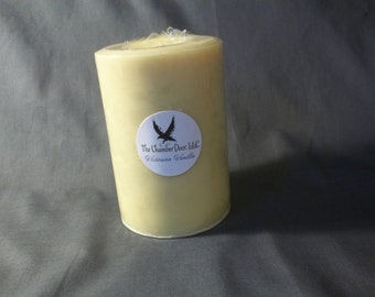 Going out of Business SALE!!! Halloween Girl Candles™ Victorian Vanilla 16 oz. Pillar Candles