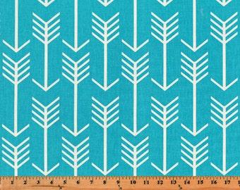 Apache Blue Arrow Curtain Panels or Valance