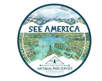 See America Sticker #2