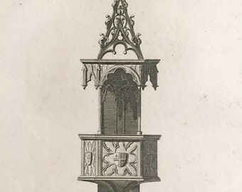 Antique Architectural Drawing