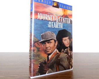 Journey to the Center of the Earth 1995 VHS Movie Jules Verne