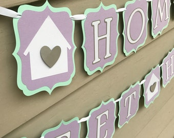 Home Sweet Home Housewarming Party Banner